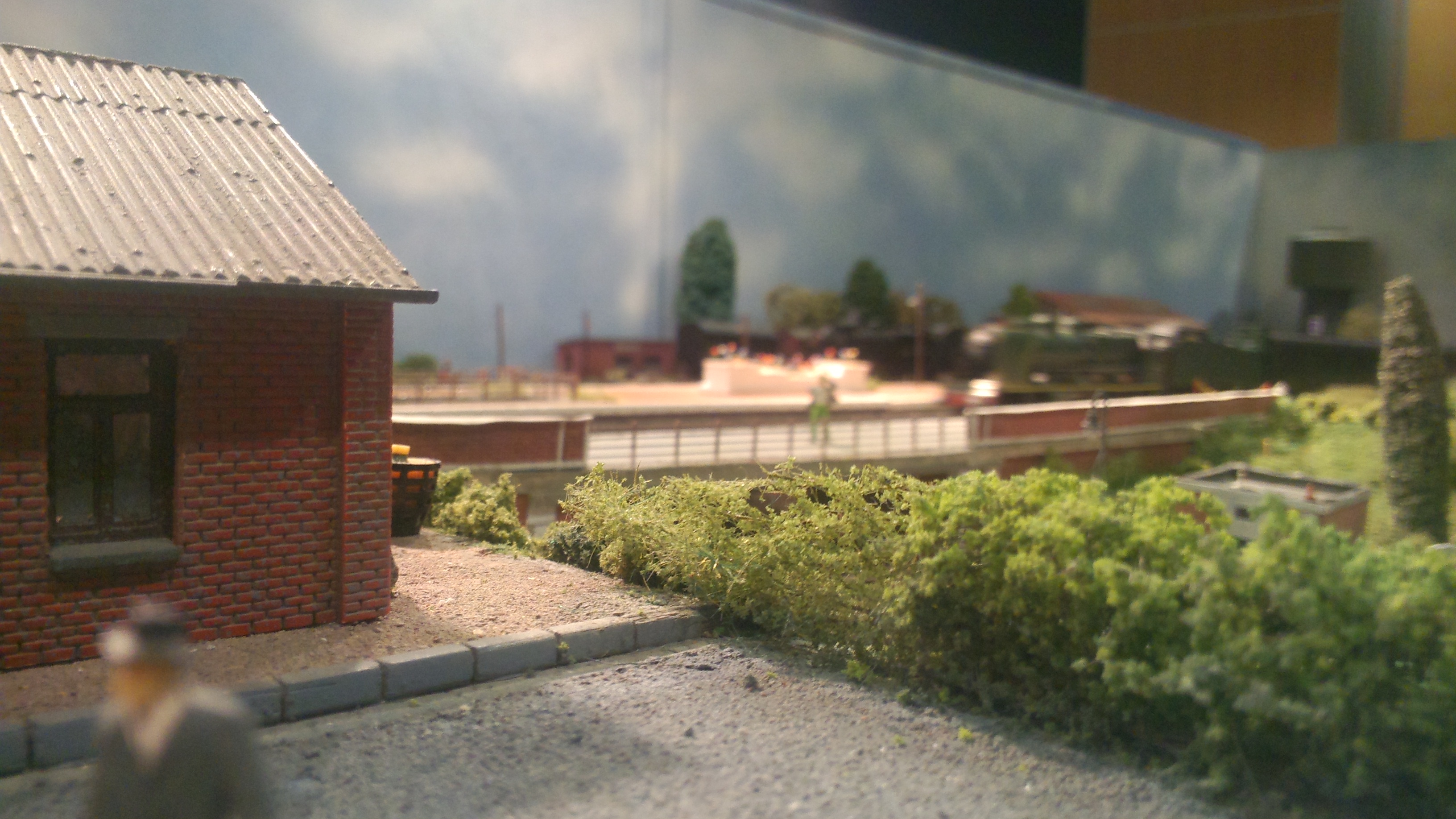 Le module de la gare de Saint-Omer