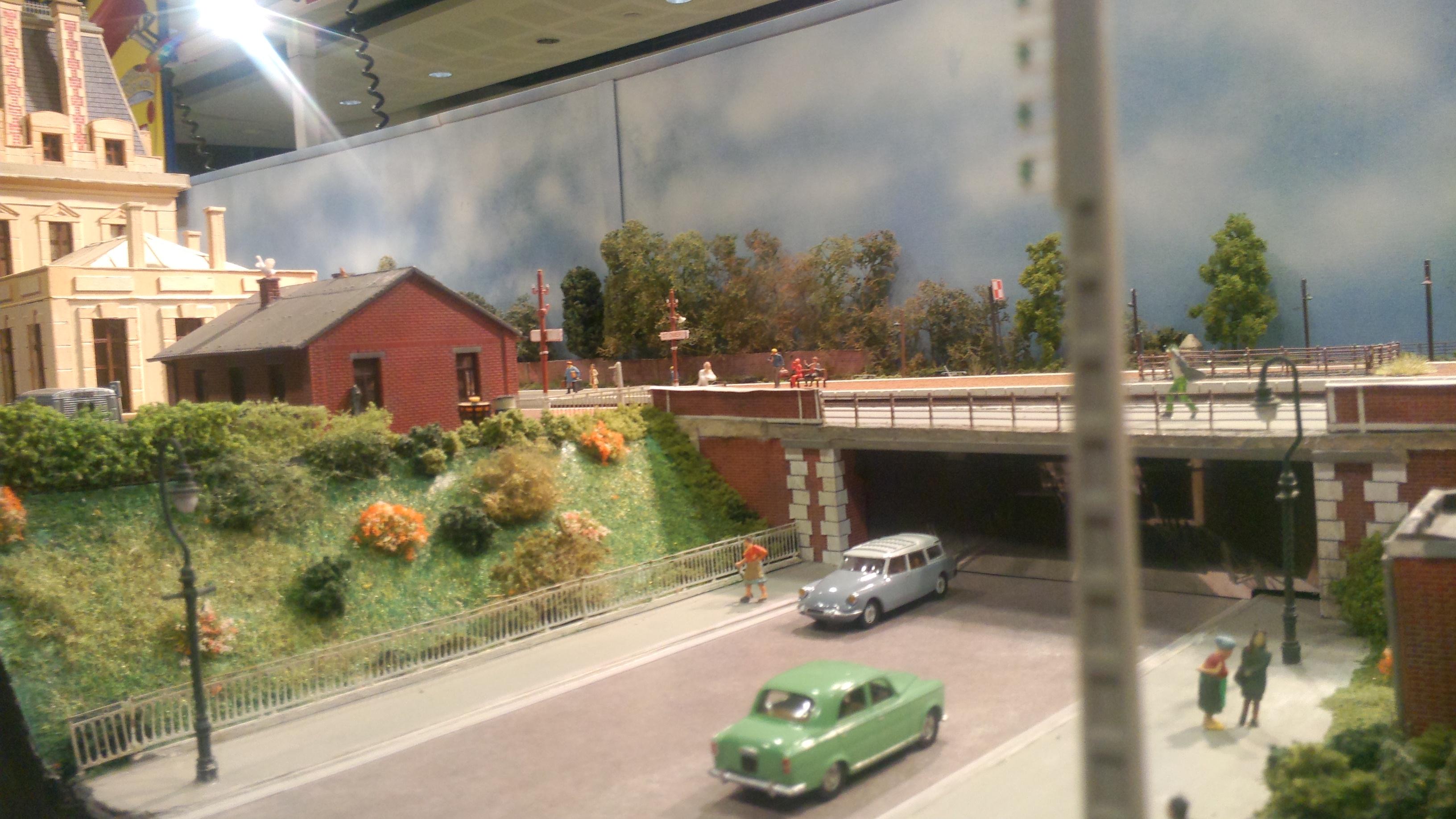 Le pont avec sa perspective
