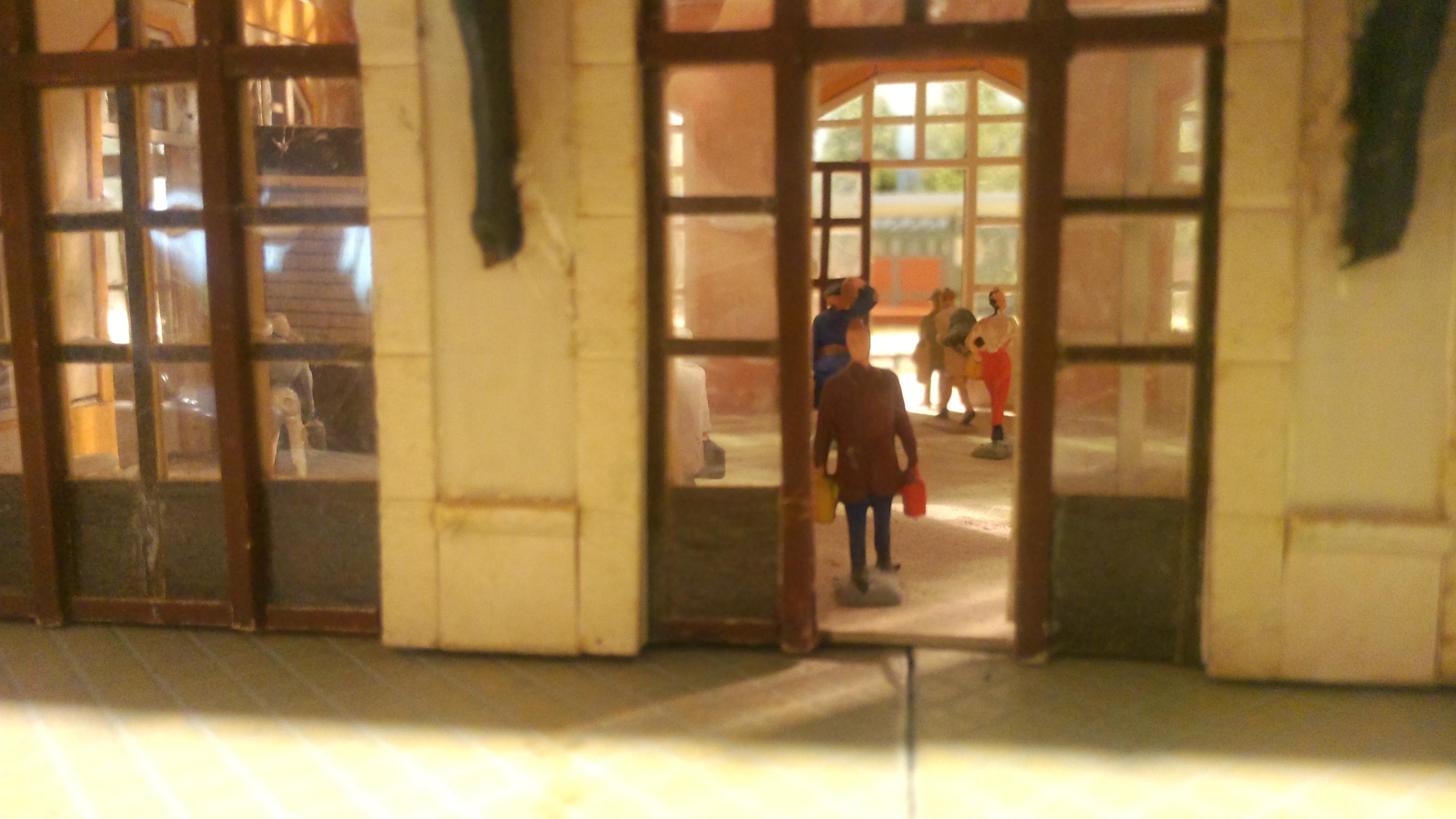 de l'animation dans la gare